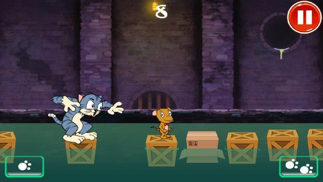 Tom runs, Jerry runs poster