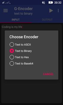 G-Encoder (Unreleased) apk screenshot