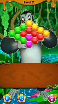 Kong Hexa Puzzle - #1 Block Puzzle Game **FREE** poster