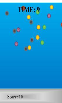 Falling Color Circles screenshot 2