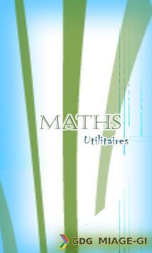 MathsUtilitaries poster