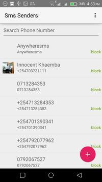 SMS Blocker poster