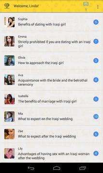 Dating with Iraq girls poster