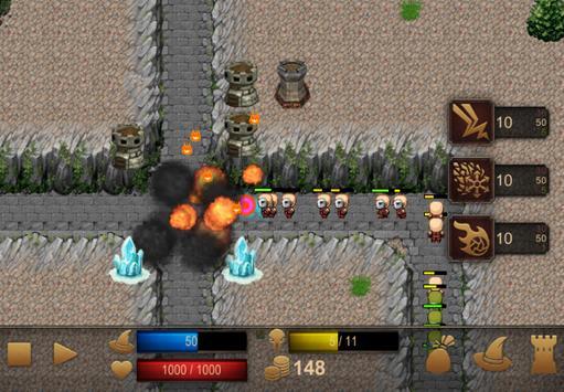 Magic Tower Defense screenshot 4