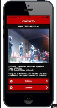 Vino Tinto Musical screenshot 1