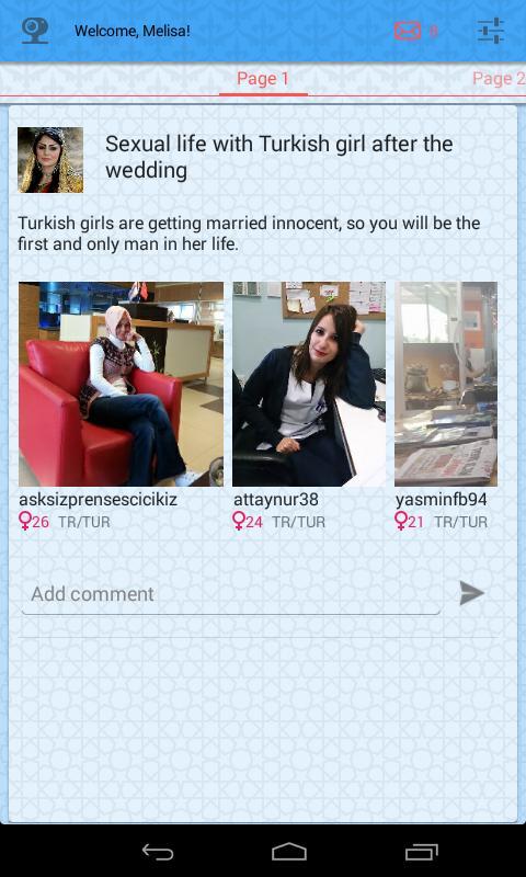 dating turkish girl