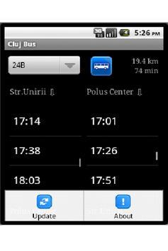 Cluj Bus screenshot 1