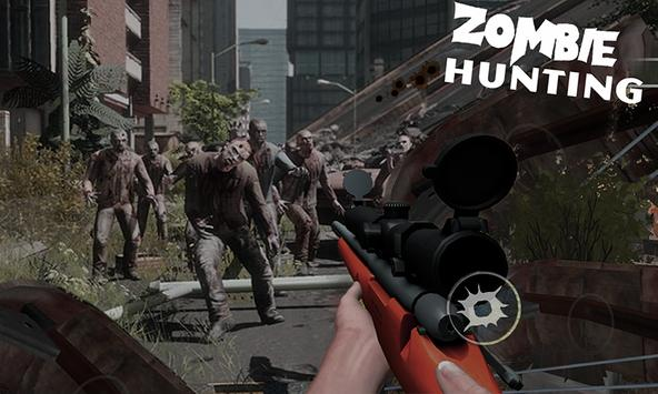 Zombie Hunting 3DHorror Sniper poster
