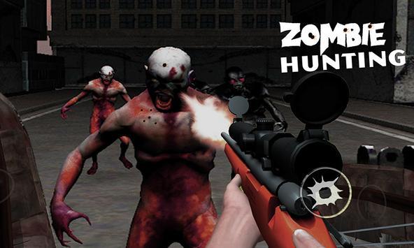Zombie Hunting 3DHorror Sniper apk screenshot