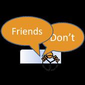 Friends Don't icon