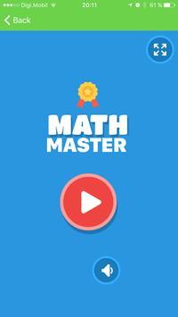 Math Master poster