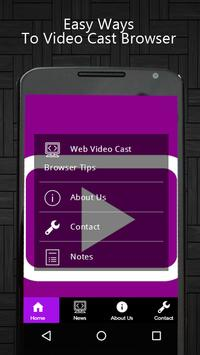 Web Video Cast Browser Tips poster