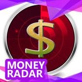 Money Radar Detector Tips icon