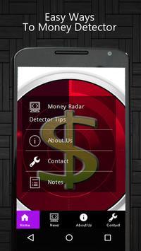 Money Radar Detector Tips poster