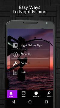 Night Fishing Tips poster