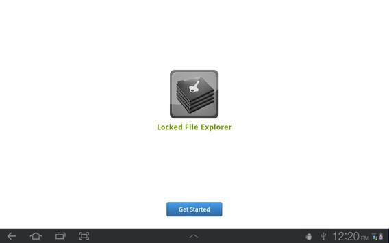 Locked File Explorer poster