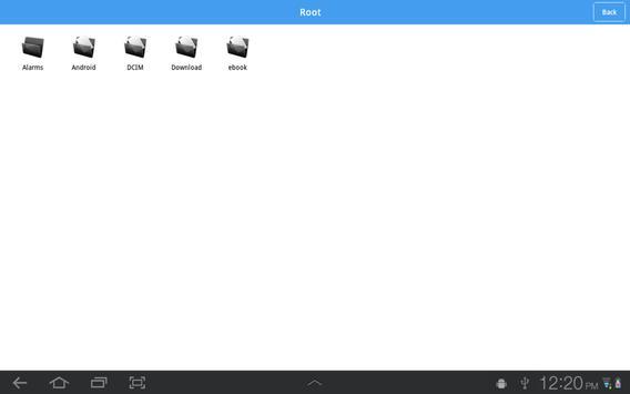 Locked File Explorer apk screenshot