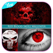 Red Blood Skull wallpaper icon
