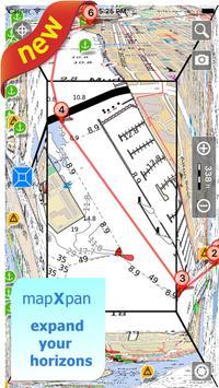 Aqua Map Iberia - Marine GPS poster