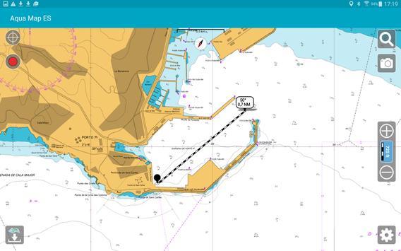 Aqua Map Iberia - Marine GPS apk screenshot