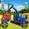 Road Construction Heavy Excavator Crane 2019-icoon