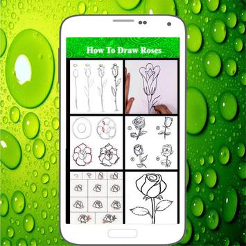 How To Draw Roses screenshot 1