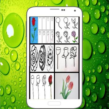 How To Draw Roses screenshot 2