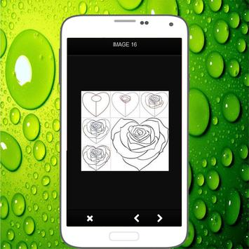 How To Draw Roses screenshot 7