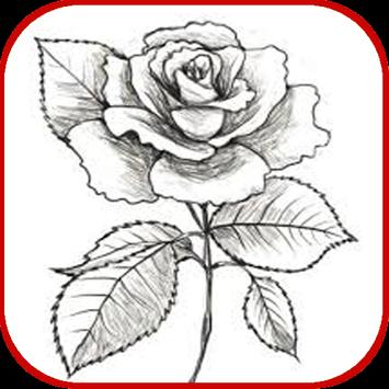 How To Draw Roses screenshot 8