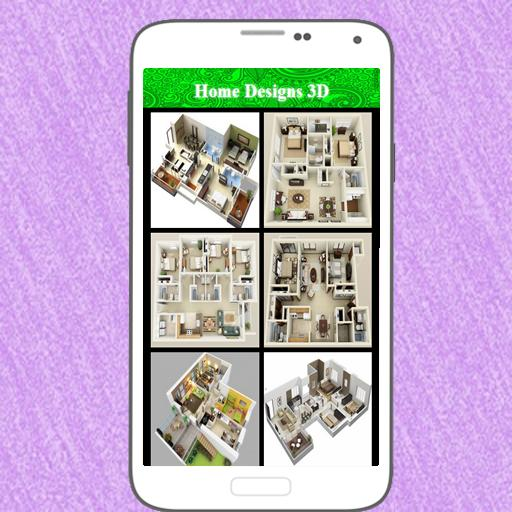 Home Designs 3D poster