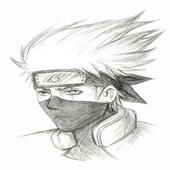 Menggambar Kakashi Hatake icon