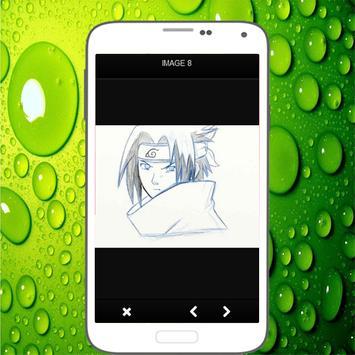 Menggambar Sasuke Uchiha screenshot 3