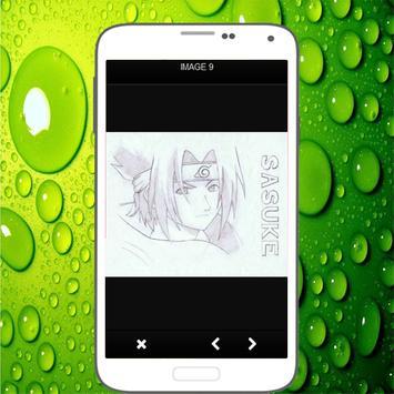Menggambar Sasuke Uchiha screenshot 2