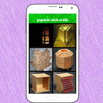 Popsicle Stick Crafts screenshot 13