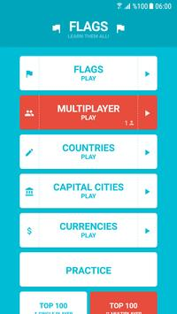 Flags And Capitals Of The World Quiz APK Download Free Trivia - Capital cities of the world game