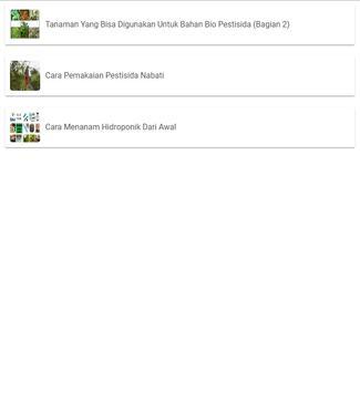 Cara Pemakaian Pestisida Nabati apk screenshot