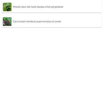 Khasiat daun dan buah pepaya apk screenshot