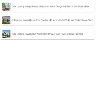 two Bedroom Home Design screenshot 1