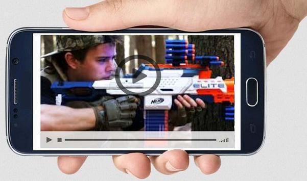 New Guns Vs Nerf War Video Guide screenshot 1