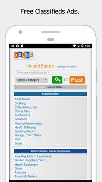 Geebo - Free Classifieds Ads screenshot 1