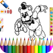 Color Book Five Nights At FNAF icon