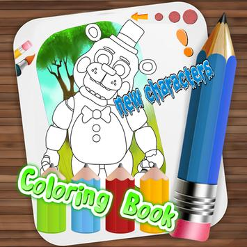Color Book Five Nights At FNAF apk screenshot