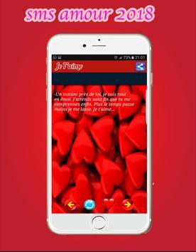 SMS AMOUR 2018 apk screenshot