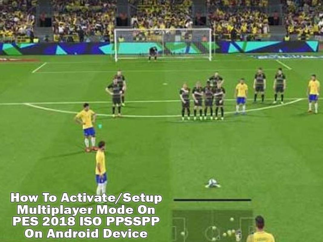 game ppsspp iso android pes 2018
