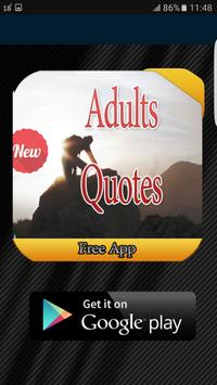 Adults Quotes 2017 apk screenshot