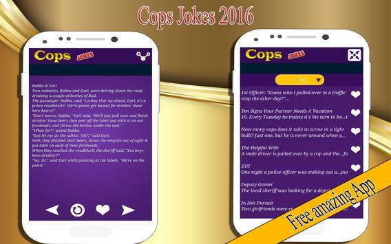 Cops Jokes screenshot 1