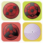 Sharingan Rinnegan 2048 Puzzle icon