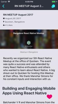 React Native Bangalore screenshot 1