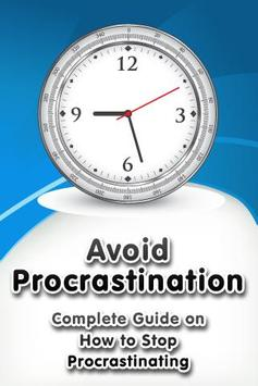 Avoid Procrastination poster