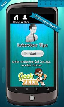 Interview Tips Win Job poster